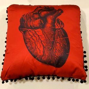 Sourpuss Heart Pillow